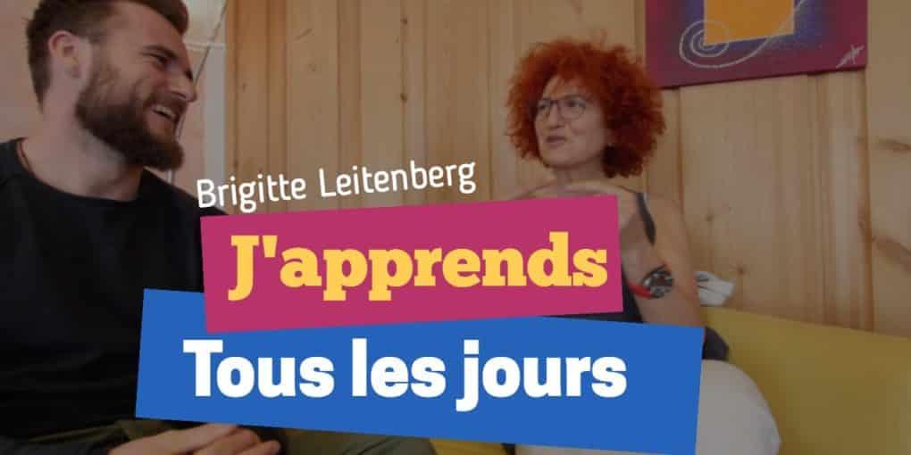Brigitte Leitenberg - La trotteuse Tissot