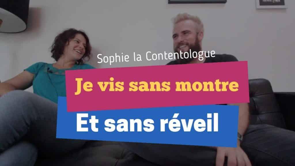 Sophie la contentologue