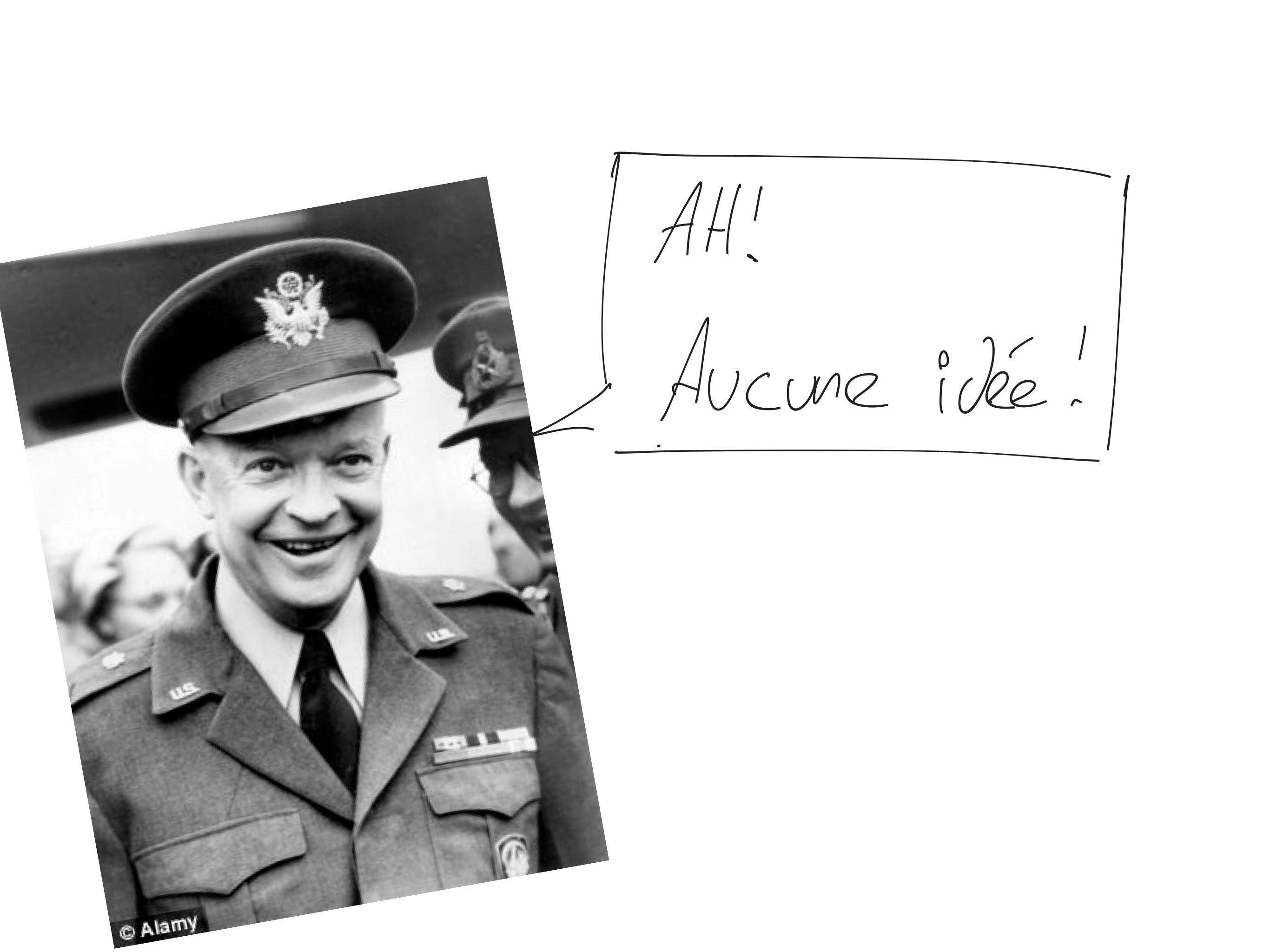 Président Dwight D. Eisenhower