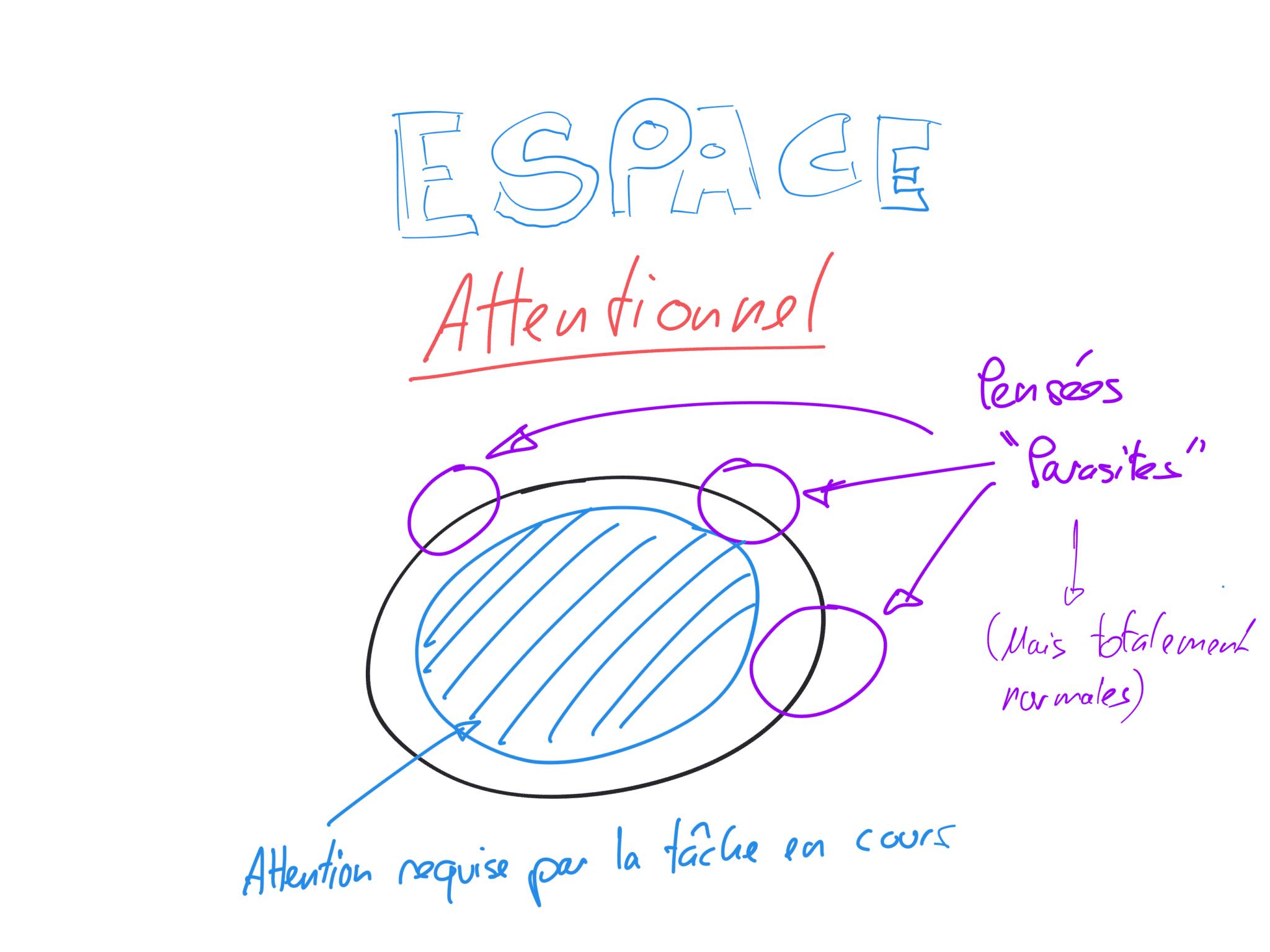 Attentionnel espace
