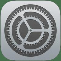 Réglages iOS icone