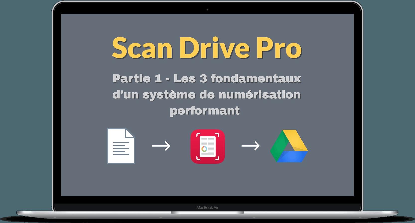 Scan Drive Pro