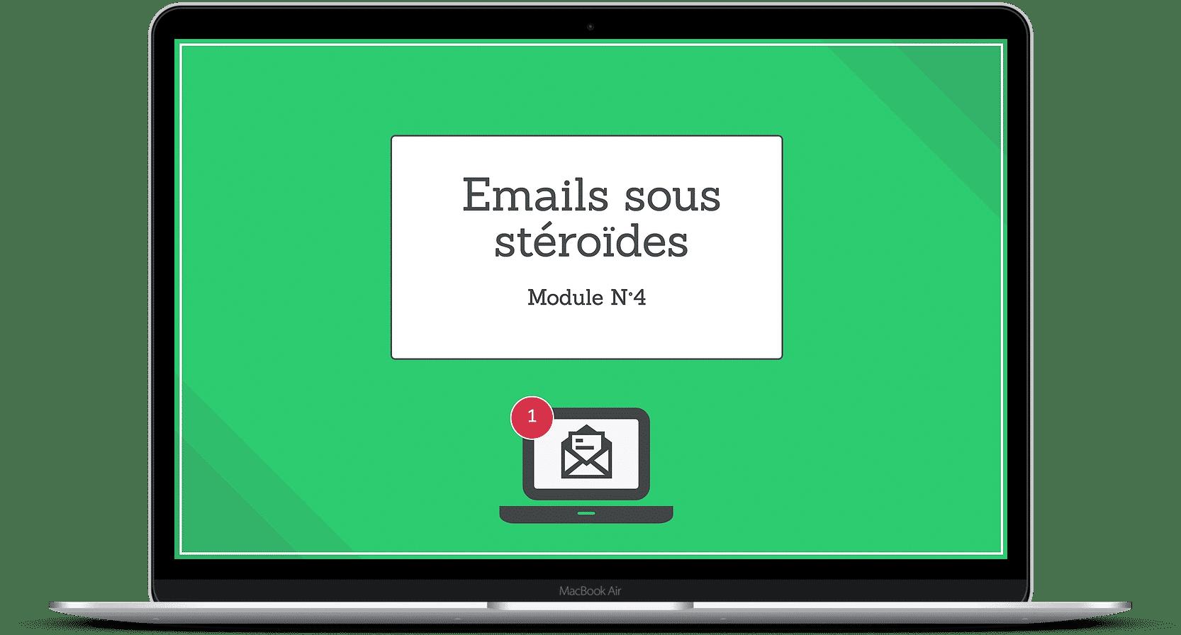 emails sous stéroïdes