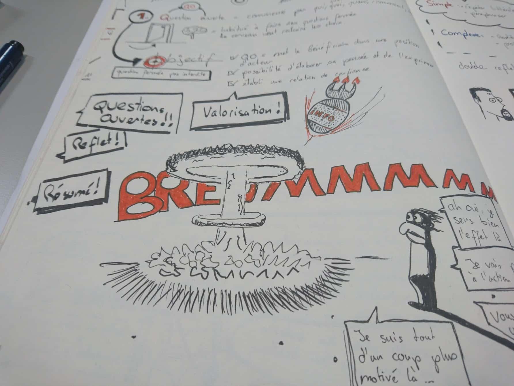 Prise de note sketchnoting