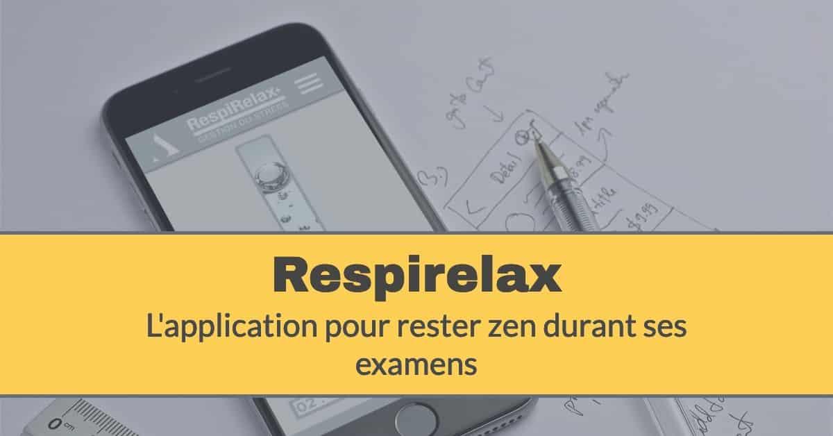 Respirelax application gratuite