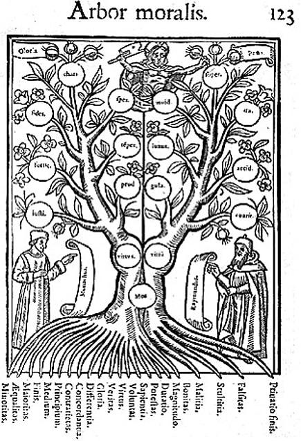 L'arbre de la connaissance Raymond Lulle
