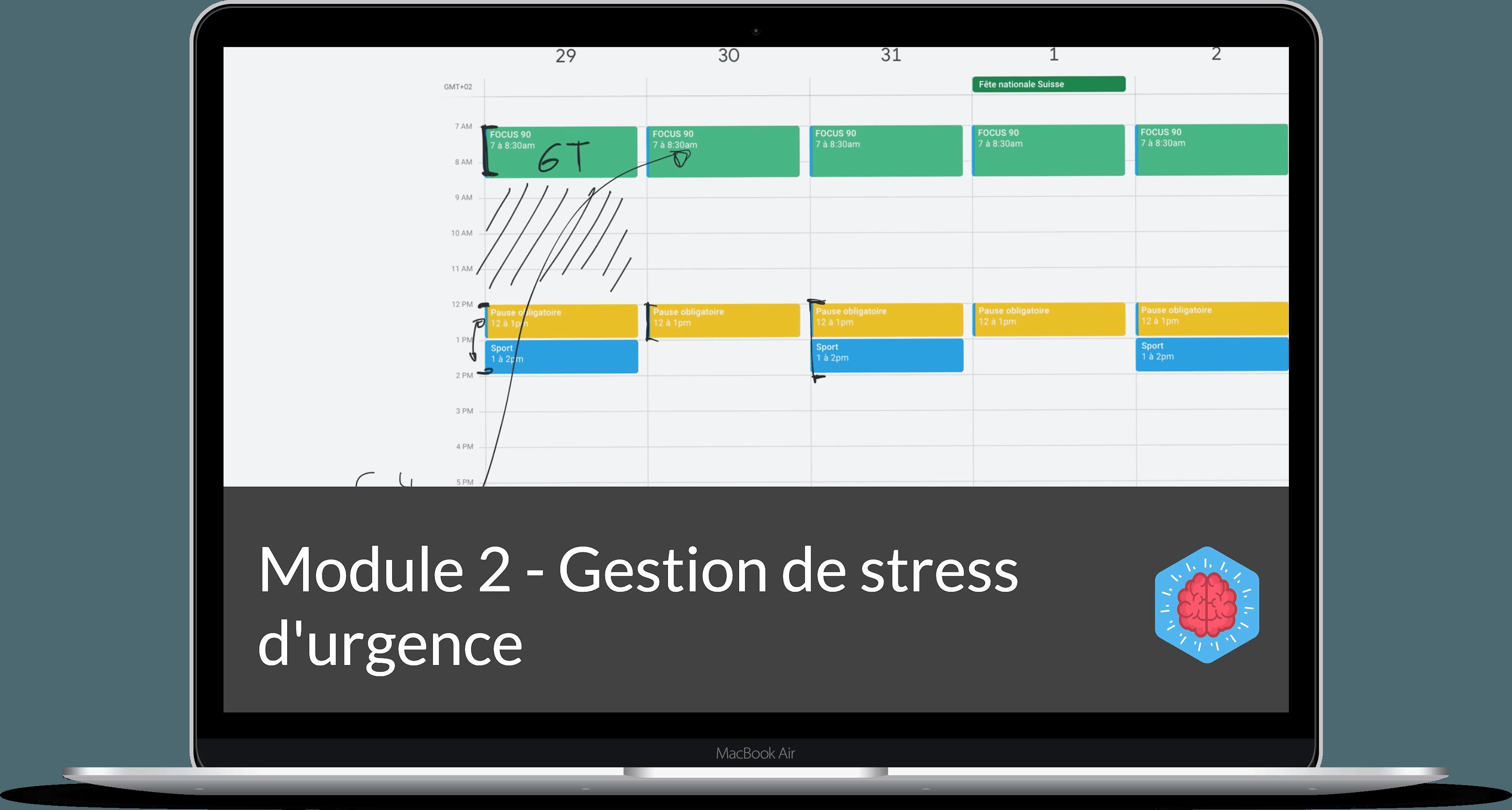 gestion du stress d'urgence
