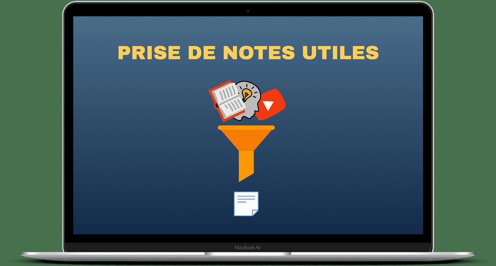 Prise de notes utiles