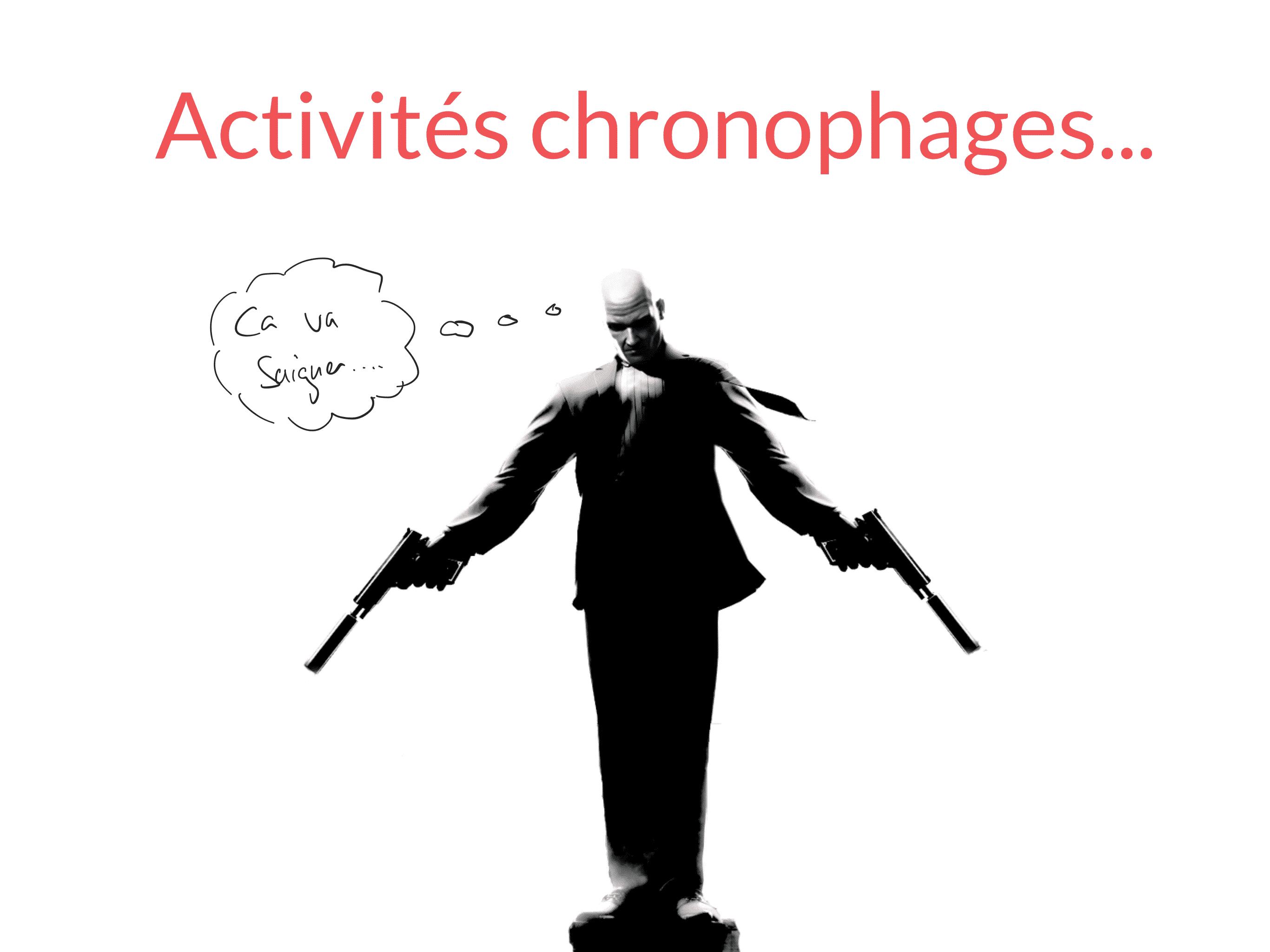 activités chronophages