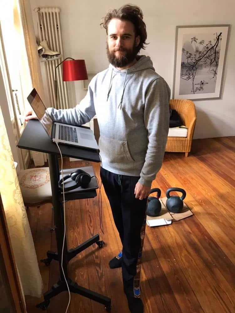 monter un standing desk